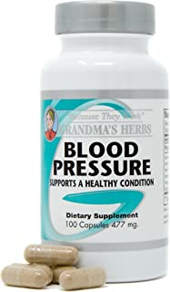 Herbal Formula for Healthy Blood Pressure Support- 100 Capsules