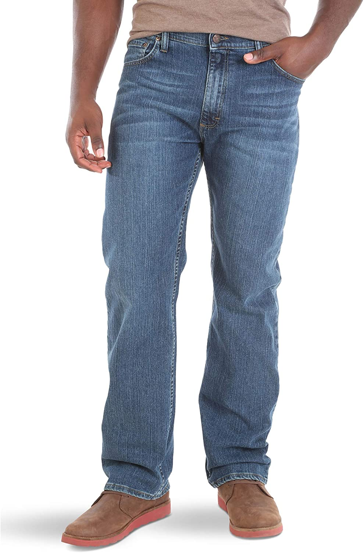 Wrangler Big /& Tall Classic Comfort-Waist Jean Jeans para Hombre