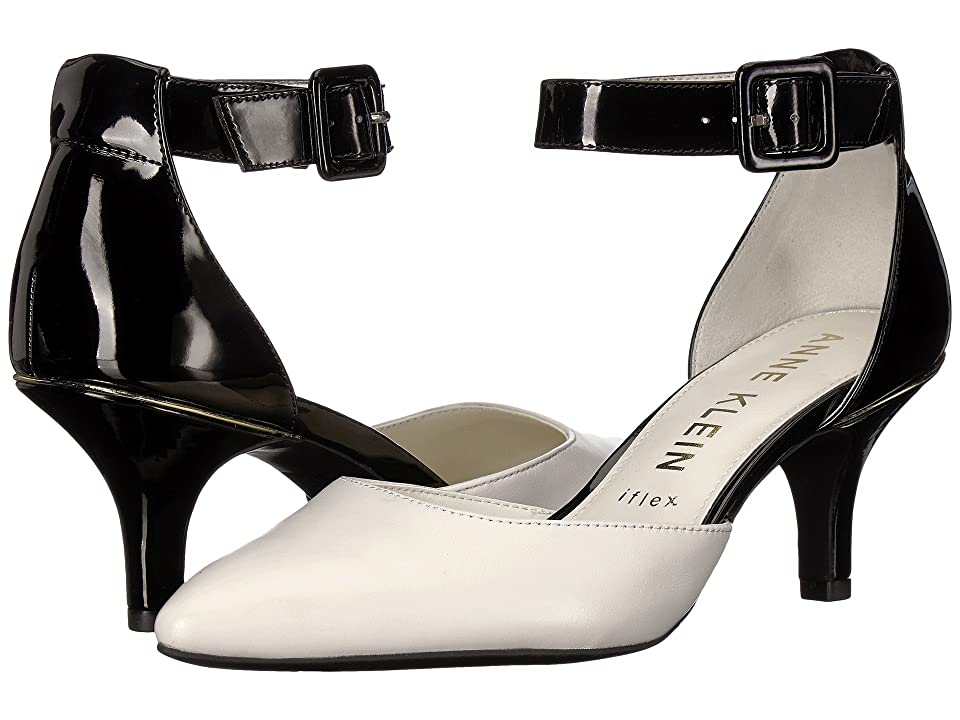 Anne Klein Fabulist (Black/Off-White) High Heels