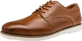 Men's Dress Shoes Leather Brogue Wingtip Oxford Shoes