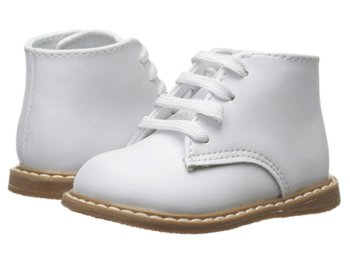 Victorian Kids Costumes & Shoes- Girls, Boys, Baby, Toddler Baby Deer Leather Hi-Top InfantToddler White Kids Shoes $37.99 AT vintagedancer.com