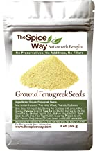 The Spice Way Fenugreek - ground   8 oz   great for Indian curry seasoning