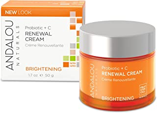 Andalou Naturals Probiotic + C Renewal Cream, 1.7 Ounce