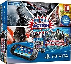 Sony PlayStation Vita Console Plus Action Mega Pack Plus 8GB Memory Card (PS Vita) - [Edizione: Regno Unito]