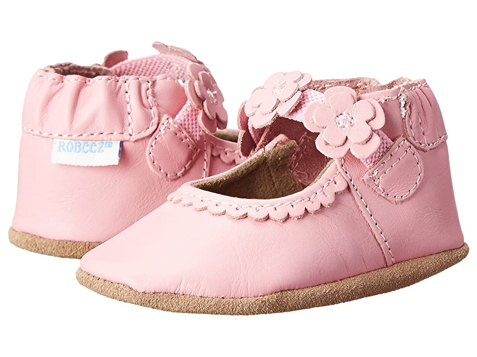 Robeez Claire Mary Jane Soft Soles (Infant/Toddler) (Prism Pink) Girl