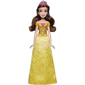 CNC51 Import Wire Transfer Disney Princess Sparkle Princess Belle Doll and Accessories Mattel