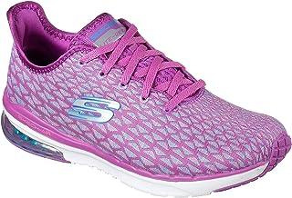 Women's Skech-Air Infinity - Free Fallin, Sneaker, Purple/Blue, US M