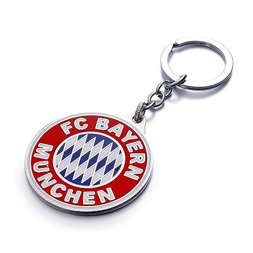 Bayern Munchen Fc Futbol Football Soccer Logo Metal Tag Chain Necklace