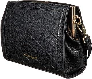 حقيبة يد كافور بوشيت للنساء من فالنتينو، مناسبة للسفر، لون اسود