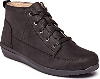 Vionic Women's Magnolia Shawna High Top Sneakers - Ladies Chukka Walking Shoes with Concealed Orthotic Arch Support