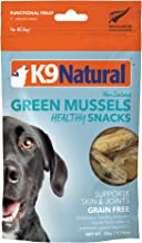 freeze dried mussels for dogs