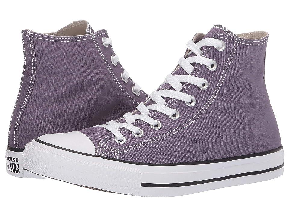 Converse Chuck Taylor(r) All Star(r) Seasonal Hi (Moody Purple) Classic Shoes