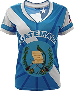 Guatemala and USA Jersey Arza Design for Women