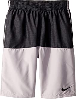 "8"" Linen Split Volley Shorts (Little Kids/Big Kids)"