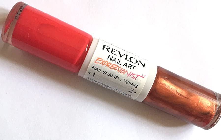 電池詐欺師貢献するREVLON NAIL ART EXPRESSIONIST NAIL ENAMEL #370 JACKSON POLISH