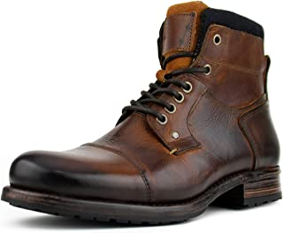 Asher Green AG6200 - Mens Casual Boots, Work Boots for Men, Mens Fashion Boots - Genuine Leather, Hand Crafted in Portugal