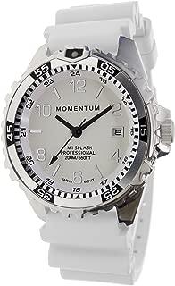 Men & Women's Dive Series Quartz Sports Watch - M1 Splash | Water Resistant, Easy to Read White Luminous Dial, Date, Screw Crown, Stainless Steel Case & Bezel | Japanese Mvmt | Analog
