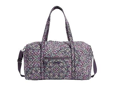 Vera Bradley Large Travel Duffel (Bonbon Medallion) Handbags