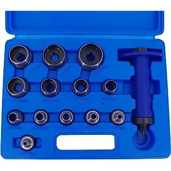 BGS 566 LOCHEISEN SET 14 TLG 5-35 MM DICHTUNG LOCH STANZEN GUMMI LEDER PAPIER