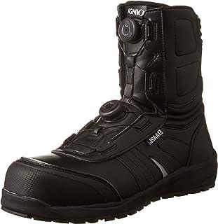 [イグニオ] セーフティシューズ(安全靴) JSAA A種認定 耐滑ソール ブーツタイプ TGFダイヤル式 IGS1067TGF