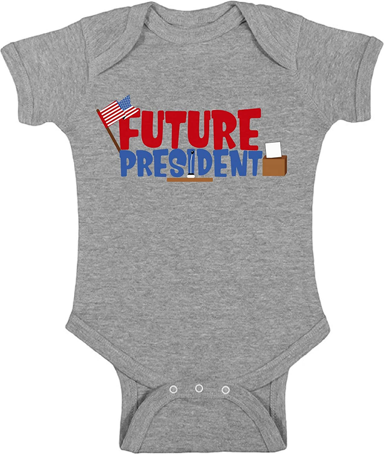 Awkward Styles Future President Bodysuit fo Newborn Baby for 1Year Old