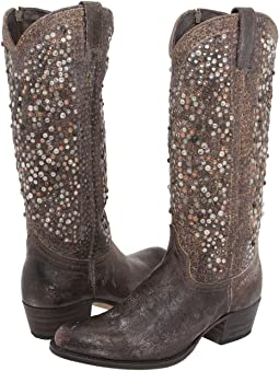 Frye Deborah Studded Tall