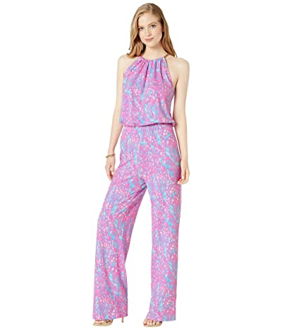 Lilly Pulitzer Bowen Jumpsuit (Pink Sorbet High Altitude) Women