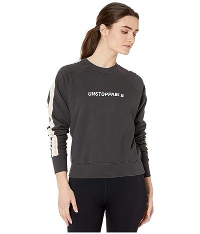 Spiritual Gangster Classic Crew Sweatshirt (Unstoppable Vintage Black) Women