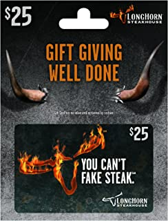 longhorn steakhouse e gift card