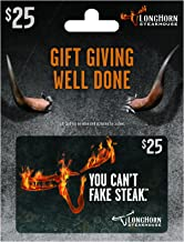 longhorn steakhouse gift card
