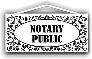 MySigncraft Notary Public Sign for Indoor or Outdoor use