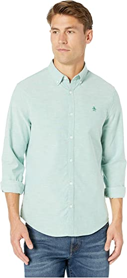 Long Sleeve Core Stretch Oxford Woven Shirt