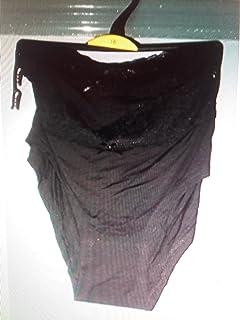 194dc1adb Matalan BNWT 2 Pack Ladies Lace Waist Banded Black Briefs/Shorts, GB 16