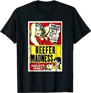 Reefer Madness Movie Vintage Retro TShirt