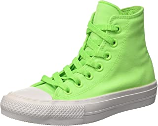 converse all star verde fluo