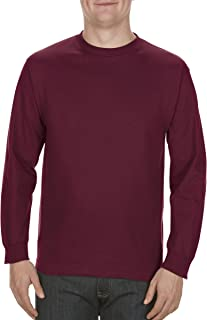 Alstyle Apparel AAA Men's Classic Cotton Long Sleeve T-Shirt