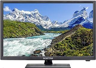 "Sceptre 24"" 1080p Full HD LED HDTV 1920x1080 ATSC MHL HDMI VGA USB, Machine Black 2020"