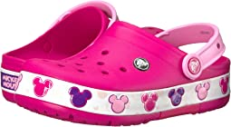 Crocs Kids - Crocband Mickey Fun Lab Lights Clog (Toddler/Little Kid)