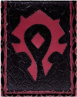 World of Warcraft Horde Cr/ête Portefeuille Cuir
