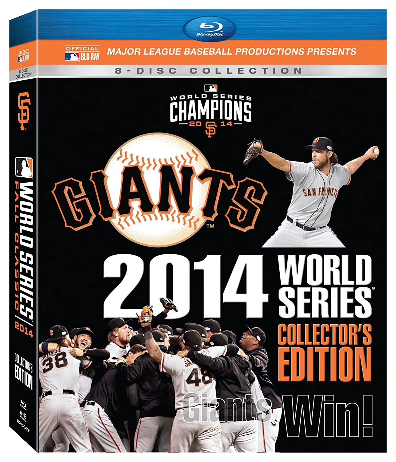San Francisco Giants: Max 58% OFF 2014 World Edition Excellent Collector's Blu Series