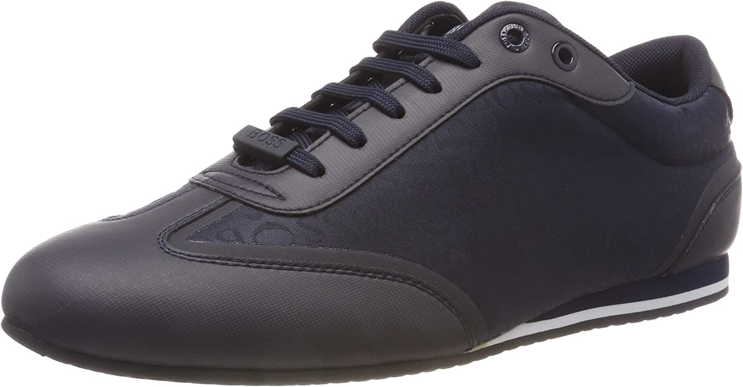 BOSS Men's Lighter_Lowp_Logo Low-Top Sneakers