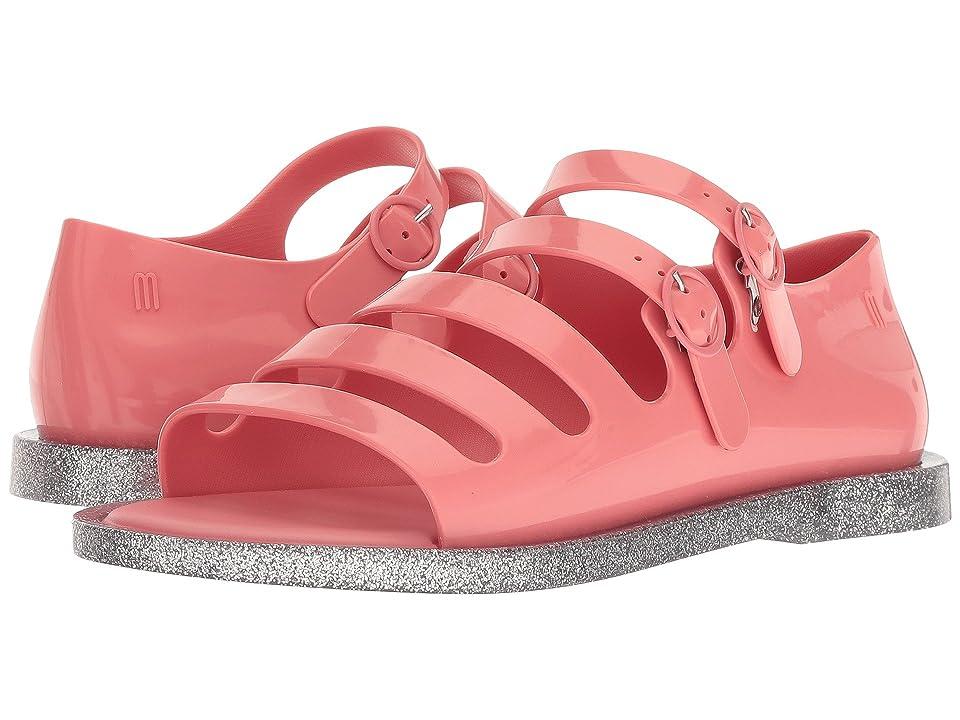 Melissa Shoes Broadway (Pink Azalea/Silver) Women