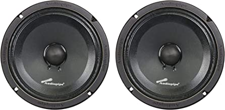 "1 Pair of AudioPipe APMB-8SB-C 8"" Full Range Car Audio DJ Sealed Back Mid photo"
