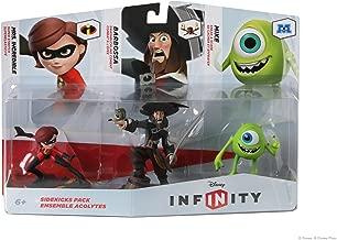 DISNEY INFINITY Figure 3-Pack: Sidekicks (Mrs. Incredible, Barbossa, and Mike)