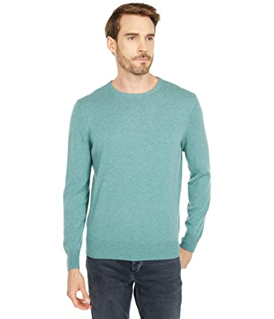 J.Crew Everyday Cashmere Crewneck Sweater in Solid (Heather Jade) Men