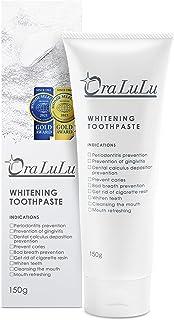 OraLuLu [医薬部外品] 薬用 ホワイトニング 歯磨き粉 フッ素配合 (歯周病/口臭/虫歯予防) 150g