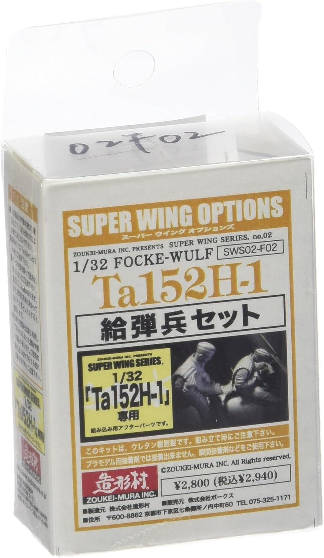 Super Wing Series SWS-002F02 - Figur Amament Crew Set für Ta152H-1 B00MN20JJ0 Großer Räumungsverkauf  | Erste Gruppe von Kunden
