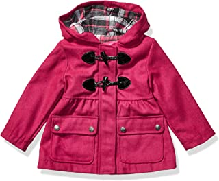 Pink Platinum Girls` Toddler Wool Toggle Coat