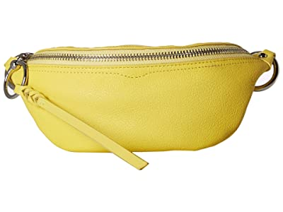 Rebecca Minkoff Bree Mini Belt Bag (Capr Yellow) Day Pack Bags