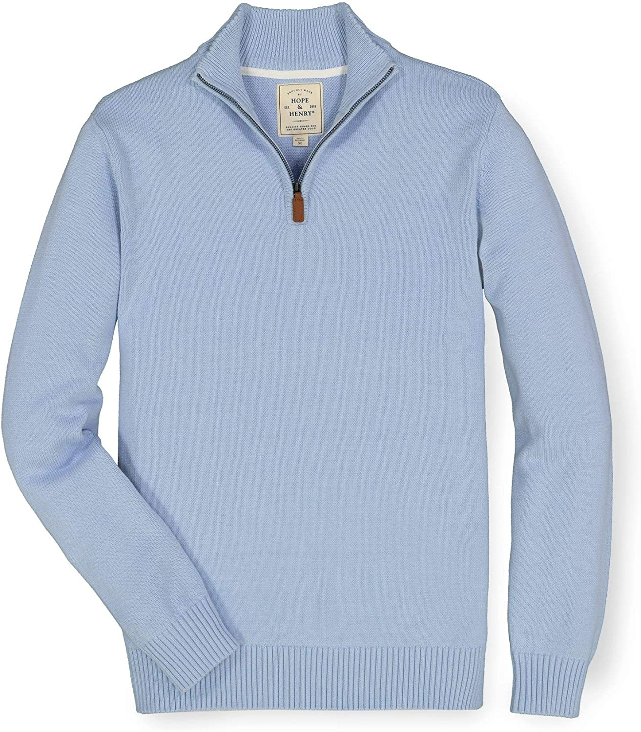 Hope Henry Men's Discount mail order Half Zip Pullover Sweater Cheap bargain